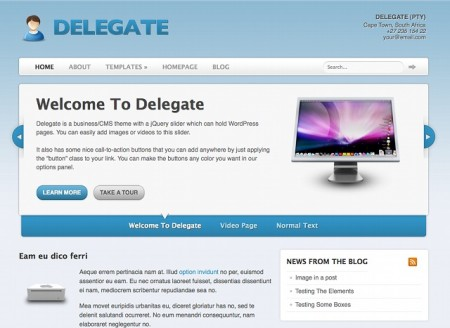 Deleagte - Woo Themes