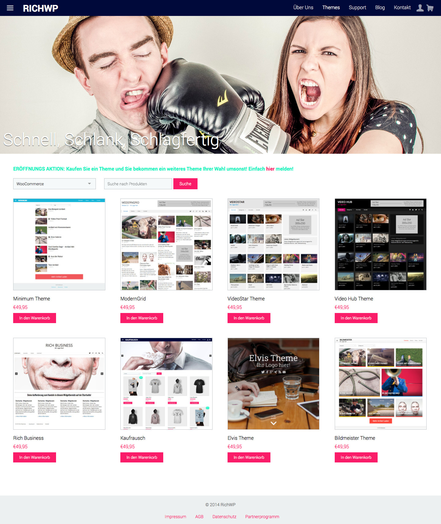 Deutsche WordPress Themes