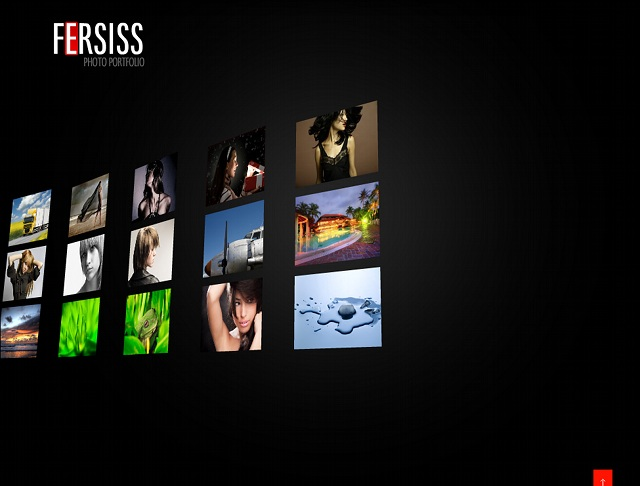 Flash Photo CMS Template