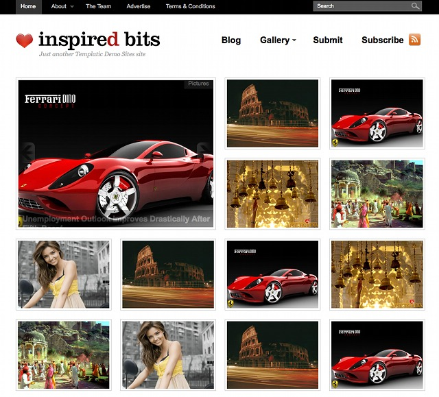 WordPress Foto Theme