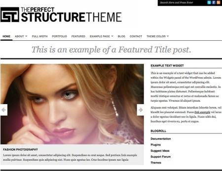 Organic Themes - Structure Theme