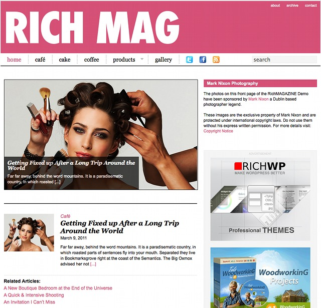 RichWP WordPress Magazine Theme
