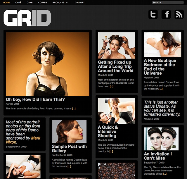 RichWP Grid Theme - Minimal 4